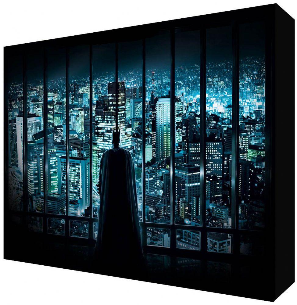 Batman The Dark Knight Gotham City Kids Room Canvas